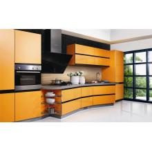Hot Sale Small Kitchen Gabinete de cozinha de design simples