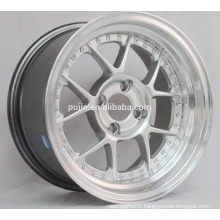 15x8 ET20 4x100 Silver alloy wheels