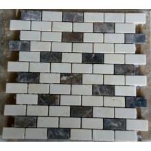 Streifen Stein Mosaik Fliese (HSM228)