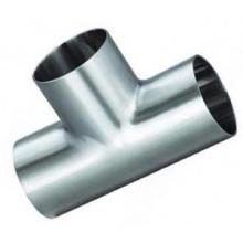 Igual 304 Tubo de aço inoxidável T sanitário de montagem
