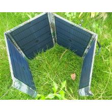 Sac de chargeur d'énergie solaire pliable imperméable de téléphone portable de 40W