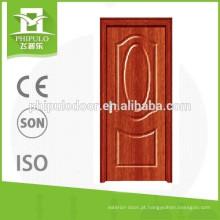 Porta de madeira do estilo original do projeto popular PVC MDF