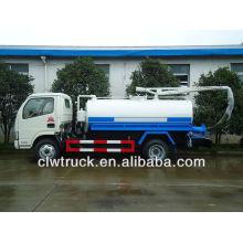 DFAC 3-4 toneladas pequeño camión cisterna fecal