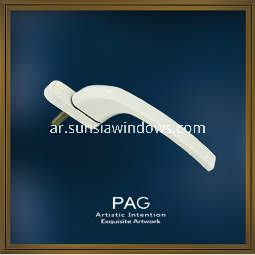 aluminium door and window handles