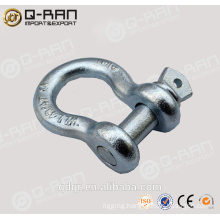 US Type Drop Forged Carbon Steel Shackles/ Screw Pin Shackles/ Crane Shackles/209 Shackles