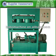 Hydraulic vehicle number plate making machine