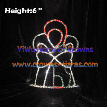 Wholesale Crystal Christmas Crowns