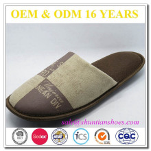 High quality popular suede men indoor slipper