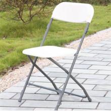 Cadeira dobrável de plástico para economia de espaço