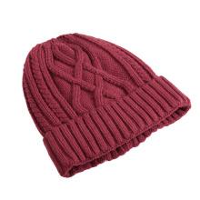 Mode kostenlose Strickmütze Hut Muster
