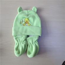 Baby Fleece-Mütze und Handschuhe set