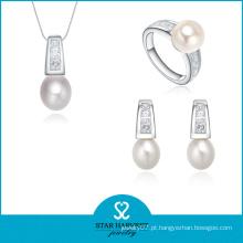Jóias de prata de festa de luxo conjunto com CZ (J-0179)