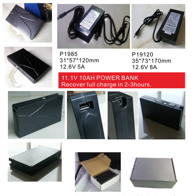 AD601 super fast recharging power bank
