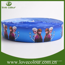 Wholesale frozen ribbon/grosgrain ribbon printed cartoon