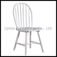 Cadeira moderna de jantar em madeira branca Windsor (SP-EC758)