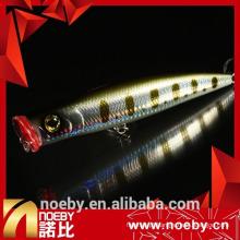 NOEBY iscas artificiais de pescoço isqueiro de 15mm