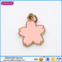 Wholesale Fashion Jewelry Metal Alloy Jewelry Sun Follower Leaf Charm
