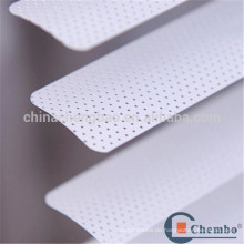 Fabrik Preiskette Aluminium Vorhang Pinhole Aluminium Jalousien