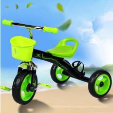 Novo modelo Kids Tricycle 3 Wheeler Trike
