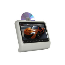 Dual Chips Active Car Headrest Dvd Player With Beige / Grey Color