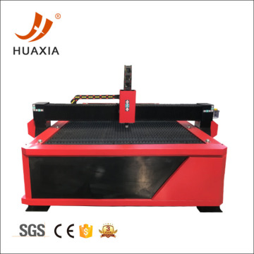 CNC stainless steel table type plasma cutting machine