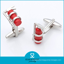 Best Silver Superman Cufflinks Manufacturer (SH-BC0015)