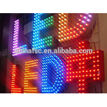 Stainless steel economical illuminated sign letters
