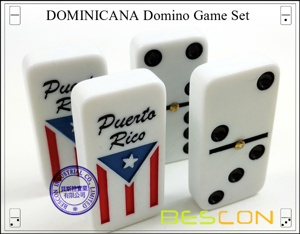 DOMINICANA Domino Game Set-6