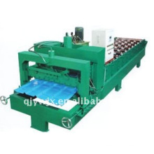 Color Steel Roof Tile Roll Former Machinery