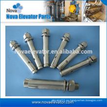 Tornillo de anclaje para elevador de zinc fabricado en china