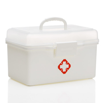 Rectangular Multi-layer Plastic Medicine Chest