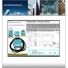 Thyssenkrupp Aufzugs-Infrarotsensor 6557025010 Aufzugssensor für Thyssen