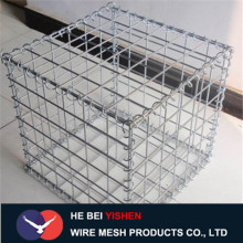 Welded wire Gabion box for road buildings