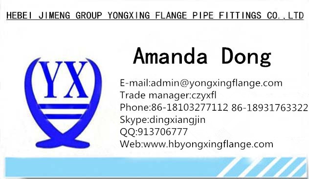 yongxing steel flange