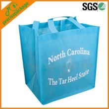 saco de compra não tecido recyclable dos pp do eco para a promoção