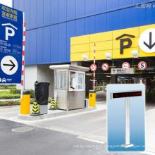 Tela de exposição exterior do diodo emissor de luz do sistema de orientação do estacionamento