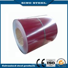 Dx51d cor revestido mergulho quente PPGI bobina de aço revestida cor