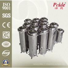 Boîtier de cartouche de filtre à eau en acier inoxydable