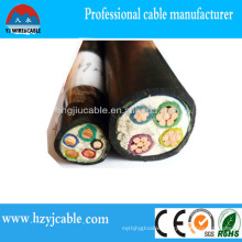 XLPE Power Cable PVC Sheath Low Voltage Power Cable