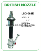 branch pipe with hand control & water curtain nozzle