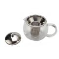 Bule De Chá De Vidro Com Um Coador De Chá Removível