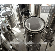 SS304 SS316L bag filter housing,stainless steel water filter housing