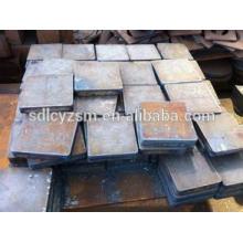Placas de acero 500X500MM