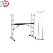 EN131 ladder Aluminum Scaffolding Ladder /work bench/stage platform