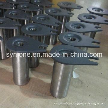 Base de eje de piezas de soldadura de acero OEM