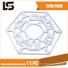 Piezas trabajadas a máquina de encargo del CNC del aluminio de la precisión de los componentes