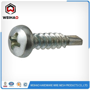 Personlized Products for Hex Head Self Drilling Screw White zinc plated Pan head self drilling screw export to Cote D'Ivoire Suppliers