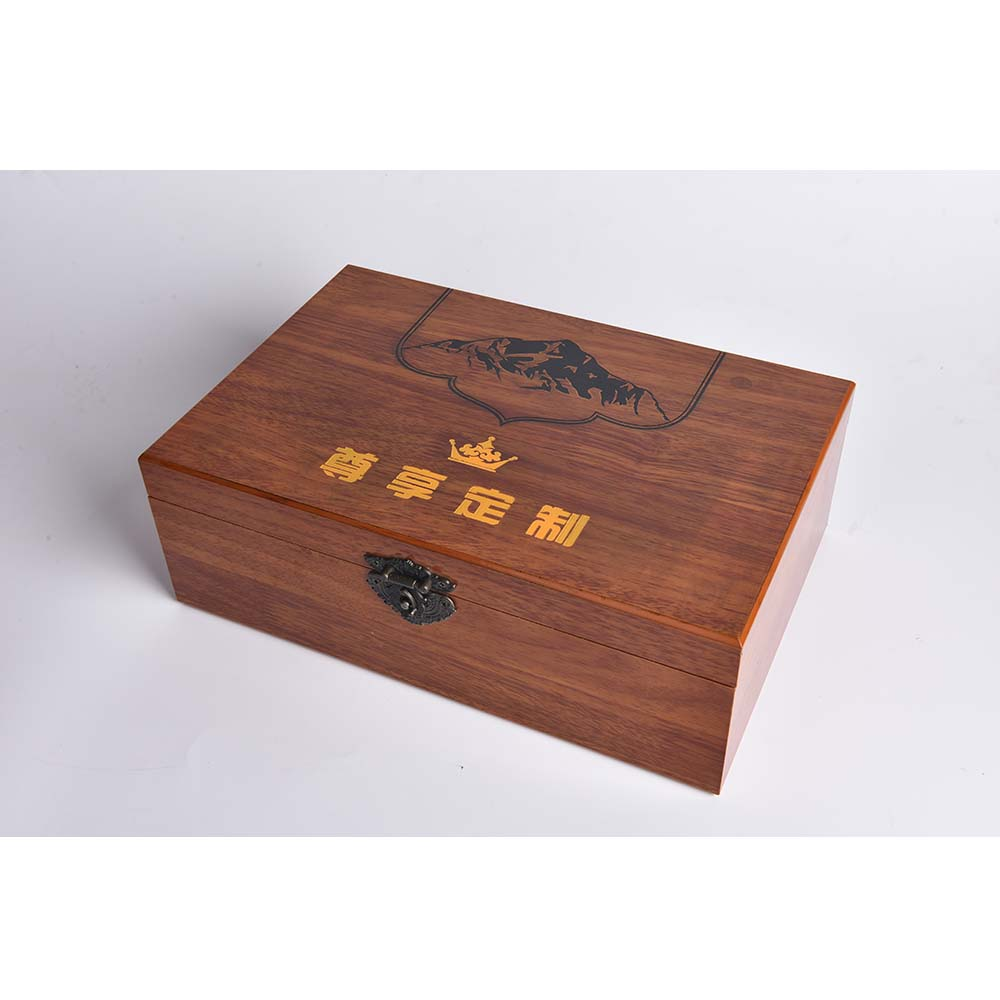 Custom Wooden Gift Wine Box