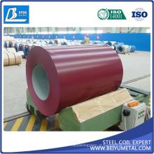 PPGL PPGI Prepainted bobina de aço galvanizada CGCC TDC51D + Z