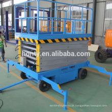 Preço inferior 4 6 8 10 12 14 16 18 m hidráulica mini mesa de elevação em tesoura